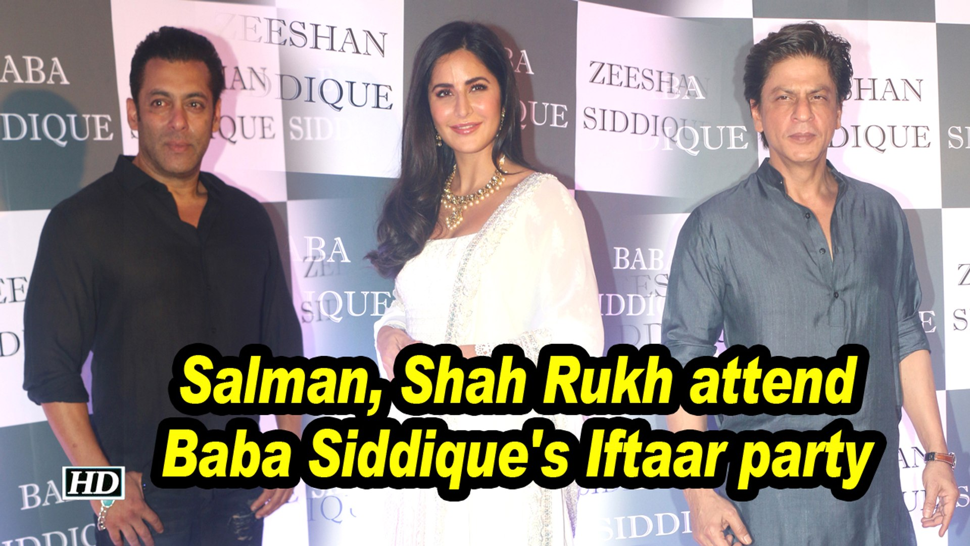 Salman, Shah Rukh attend Baba Siddique's Iftaar party