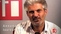 Laurent Gaudé explique le choix d'Hakim Bah comme lauréat du Prix Théâtre RFI 2016