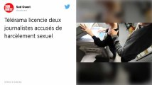 Télérama licencie deux journalistes accusés de harcèlement sexuel