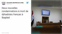 Les deux derniers djihadistes français jugés en Irak condamnés à mort.
