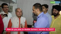 Agriculture Minister Narendra Singh Tomar on the roadmap to double farmers' income by 2022