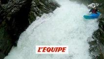 Une descente de rapides par Nouria Newman, vu par un drone - Adrénaline - Kayak extrême