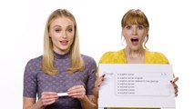 Sophie Turner & Jessica Chastain Answer the Web's Most Searched Questions