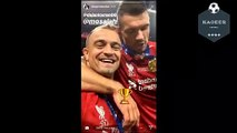 Liverpool players celebrations after champions league final