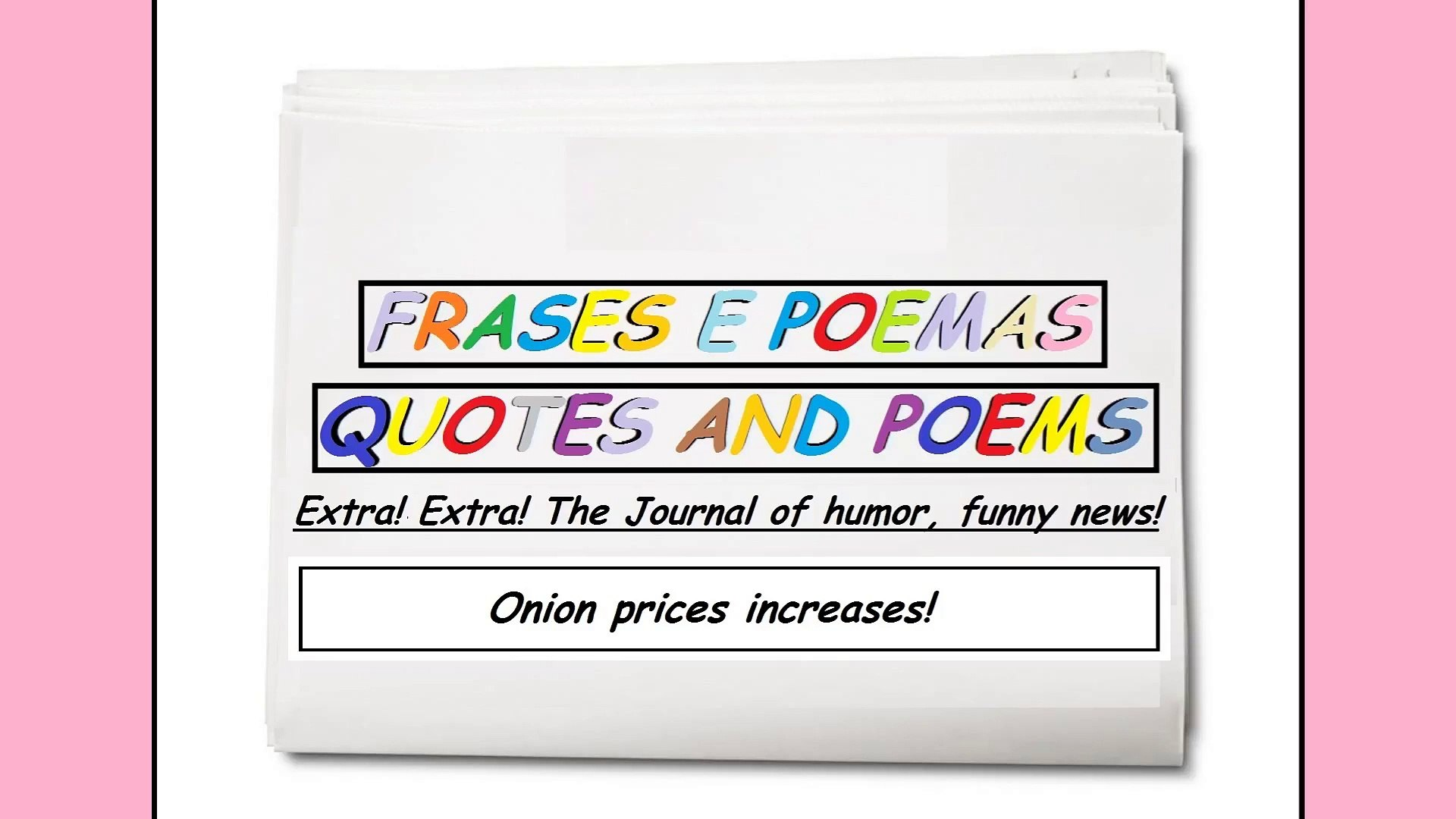 Funny News Onion Prices Increases Quotes And Poems