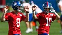 Battista: 'No division' of first-team reps for Eli Manning, Daniel Jones