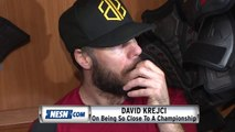 David Krejci On Anxiousness As Stanley Cup Final Goes Deeper