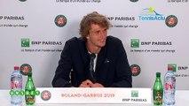 """Roland-Garros 2019 - Alexander Zverev: """"That's it, I'm an adult ..."""""""