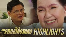 Flora expresses her trust to Oscar's plan for the country   FPJ's Ang Probinsyano