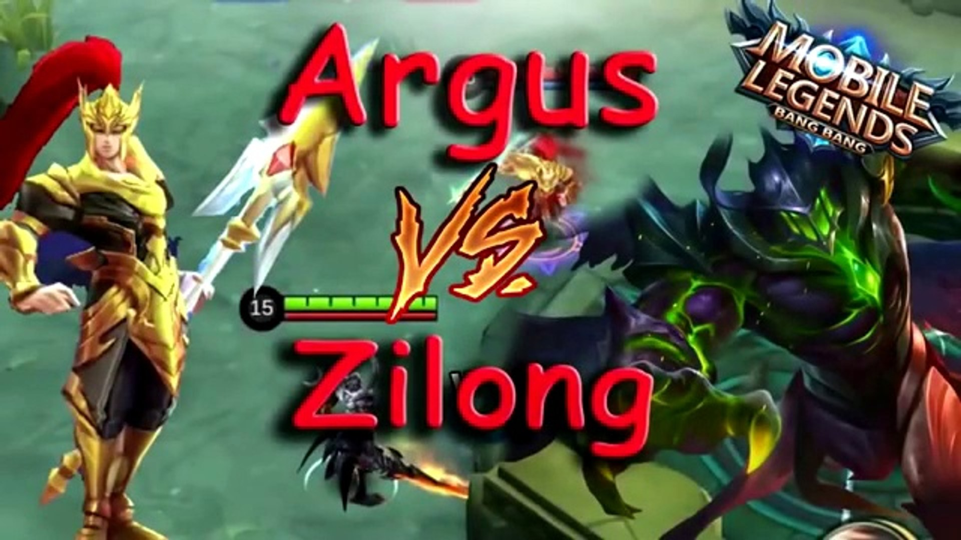 Mobile Legends Zilong Vs Argus Full Attack Speed Battle