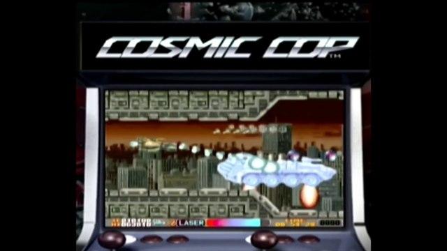 Playing COSMIC COP - Arcade