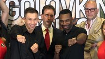 "Gennady ""GGG"" Golovkin and Steve Rolls speak ahead of MSG bout"