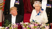 Queen stresses shared values as US President Trump visits UK