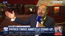 """""""La peur du spectacle de trop"""", Patrick Timsit fait ses adieux au stand-up"""