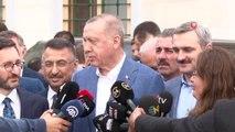 """Cumhurbaşkanı Erdoğan'dan YSK'nın ilçe seçim kurullarıyla ilgili kararını değerlendirdi: """"Biz bütün..."""