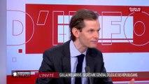 LR : « Nous avons besoin de l'expérience et de l'intelligence de Gérard Larcher » déclare Guillaume Larrivé