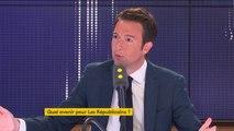 """Démission de Laurent Wauquiez : """"L'heure n'est pas aux déclarations de candidature personnelle, elle est au sang-froid, à l'esprit d'équipe et à l'humilité"""", estime Guillaume Peltier"""