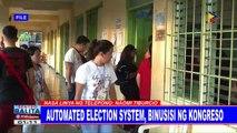 Automated election system, binusisi ng Kongreso