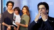 Shahrukh Khan shares Aryan Khan, Suhana Khan & Abram Khan's cute picture | FilmiBeat