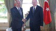 Συνάντηση Αβραμόπουλου-Ερντογάν στην Κωνσταντινούπολη