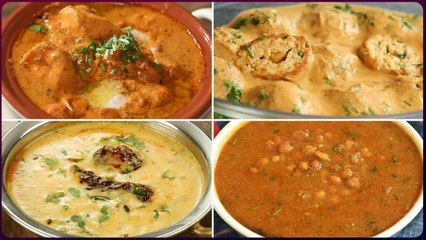 5 Best North Indian Curry Recipes - North Indian Popular Recipes - Traditional North Indian Dishes