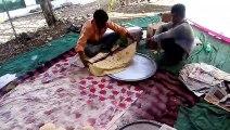indian village romani roti making by mom