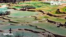 """""""La vallée du dragon jaune"""", un joyau minéral époustouflant caché en Chine"""