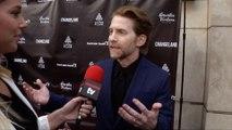 "Seth Green Interview ""Changeland"" Los Angeles Premiere Red Carpet"