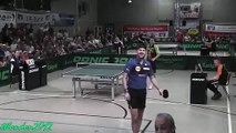 Deux échanges spectaculaires en tennis de table