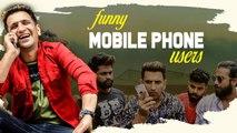 Funny Mobile Phone Users || HYDERABADI Comedy || Kiraak Hyderabadiz