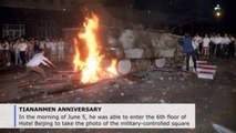 Iconic 'Tank Man' image was luck, says photographer (C)