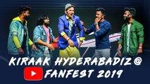 Youtube Fan Fest Hyderabad 2019     Noor Bhai live Performance    Kiraak Hyderabadiz