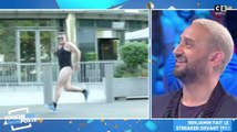 Benjamin Castaldi en petite tenue devant TF1 - ZAPPING PEOPLE DU 04/06/2019