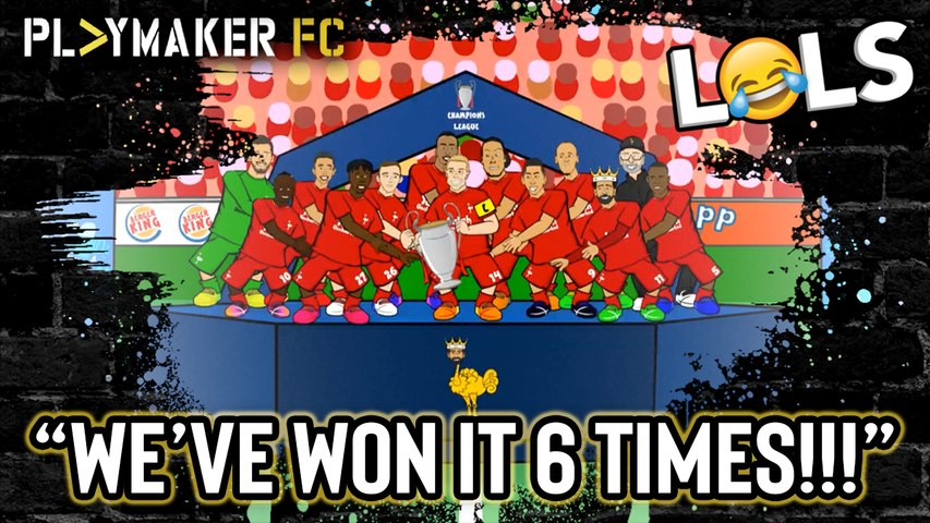 LOLs | Liverpool's UCL celebrations as you've never seen them before