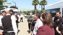 Les Verts en visite à la maison de retraite de Sidi Moussa