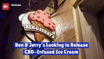 Ben And Jerry's Joins The CBD Craze