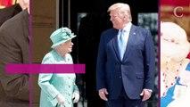Donald Trump encore fautif : ce geste envers Elizabeth II pendant le banquet à Buckingham Palace qui n'est pas passé inaperçu