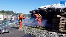 Pompiers - Simulation risques chimiques
