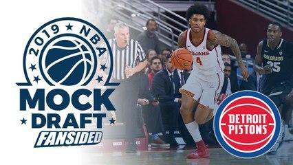 2019 NBA Mock Draft - Pistons select Kevin Porter Jr. with No. 15 Pick