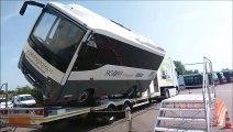 Un exercice d'évacuation d'un bus accidenté à Dijon