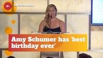 Amy Schumer Celebrates Birthday With Her New Child