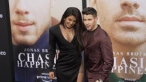 "Right Now: Priyanka Chopra and Nick Jonas at ""Chasing Happiness"" Red Carpet Premiere"