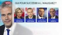 Qui pour remplacer Laurent Wauquiez à la tête des Républicains ?