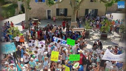 400 enfants défilent à Velleron pour sauver leur rivière