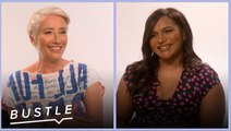 Mindy Kaling and Emma Thompson Solve Your Awkward Office Drama