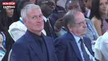 Emmanuel Macron taquine Paul Pogba avant de lui remettre la Légion d'honneur (vidéo)