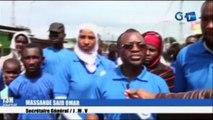 RTG - Opération de nettoyage des différentes artères dans le 5e arrondissement de Libreville par des jeunes musulmans volontaires