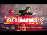 2018 World Youth Championships - Boys Singles - Semi-finals and Finals