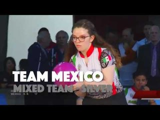 Team Mexico at the World Junior Bowling Championships 2019