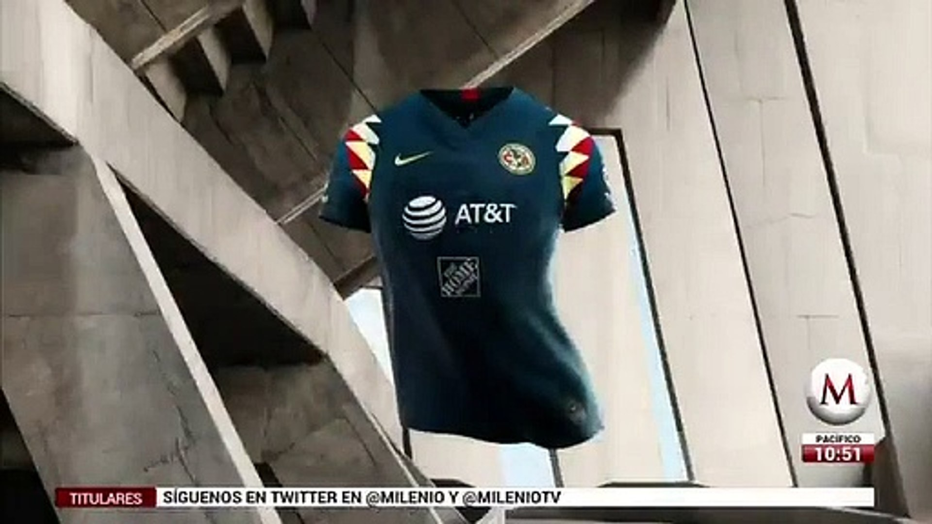 El América presenta su jersey de visitante para el próximo torneo